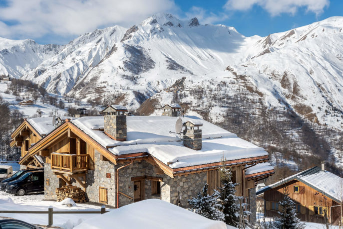 Les Chalets du Nant du Four / Vue 4 / Saint Martin de Belleville, Savoie