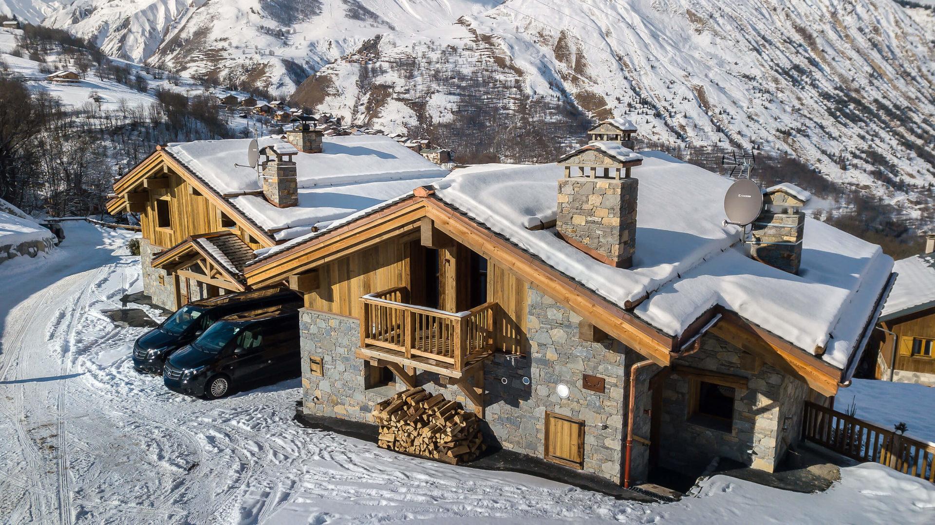 Les Chalets du Nant du Four / Vue 5 / Saint Martin de Belleville, Savoie