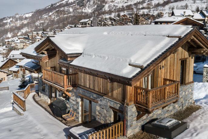 Chalet Mehrotra Façade 2 - Saint Martin de Belleville, Savoie