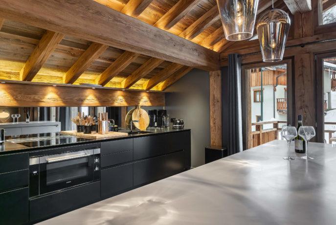 Ferme de 1779 - cuisine 1 / Saint Martin de Belleville, Savoie
