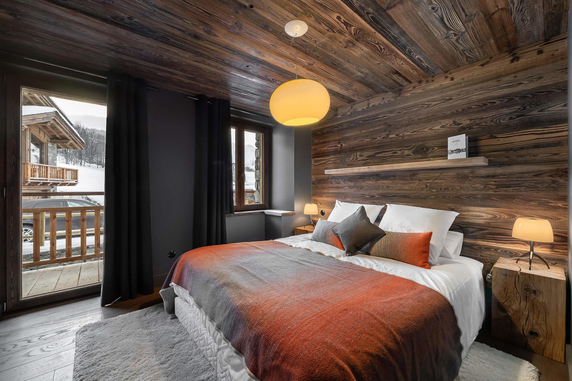 Ferme de 1779 - chambre 2 / Saint Martin de Belleville, Savoie
