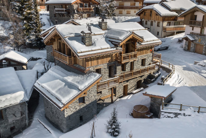 Ferme de 1779 - perspective 4 / Saint Martin de Belleville, Savoie