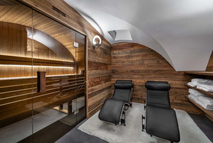 Ferme de 1779 - sauna / Saint Martin de Belleville, Savoie