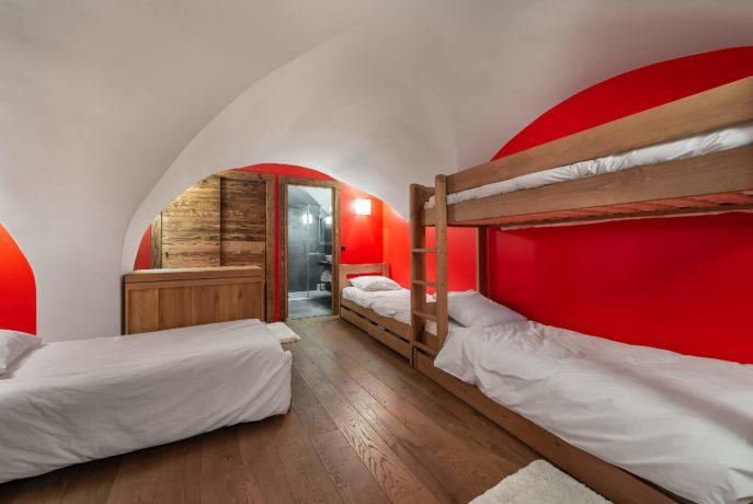 Ferme de 1779 - dortoir / Saint Martin de Belleville, Savoie