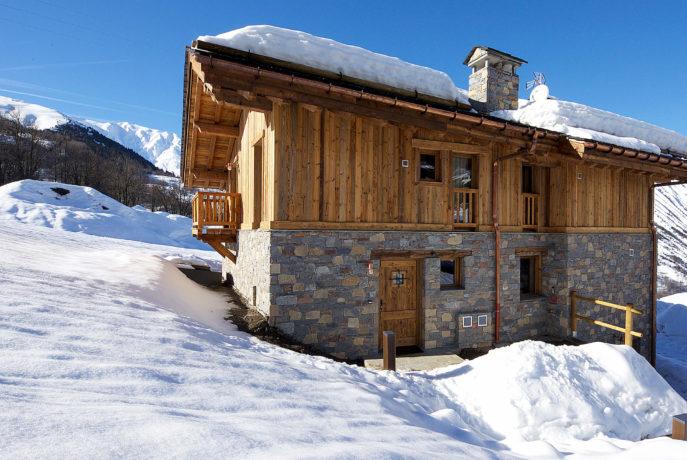 Chalet Mehrotra Vue 1 - Saint Martin de Belleville, Savoie