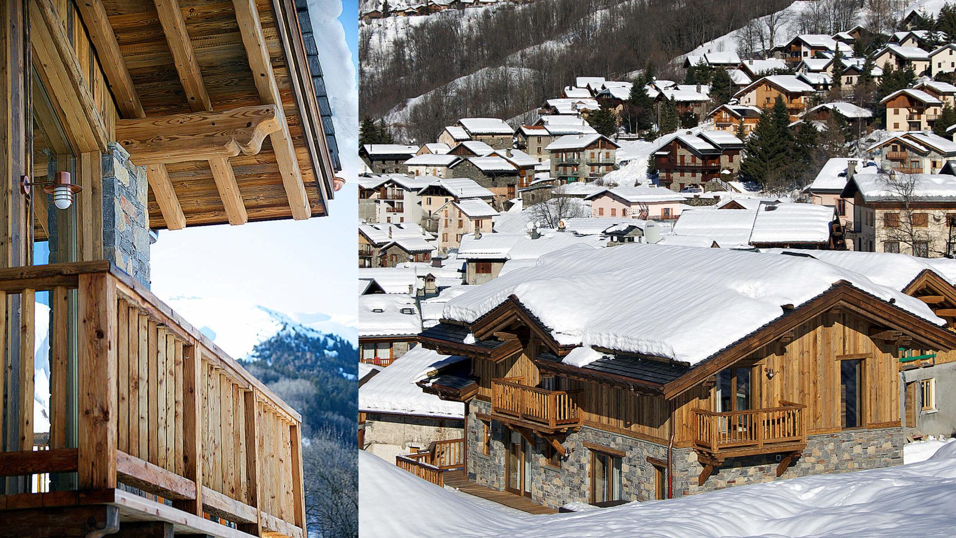 Chalet Mehrotra Vue 4 - Saint Martin de Belleville, Savoie