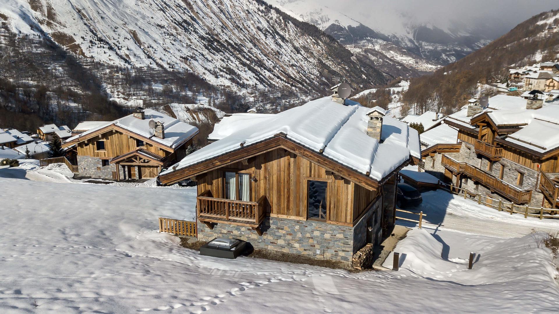 Chalet Mehrotra Perspective 6 - Saint Martin de Belleville, Savoie