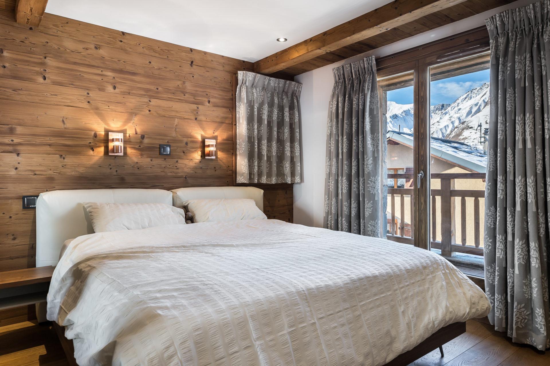 Chalet Roc de Fer chambre 3 Saint Martin de Belleville, Savoie