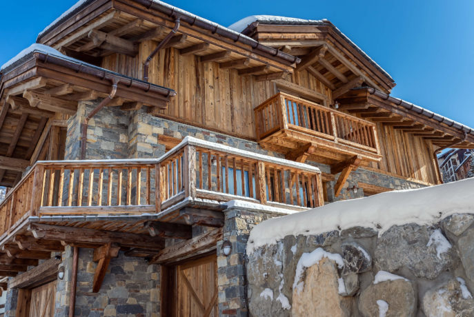 Chalet Mehrotra Perspective 3 - Saint Martin de Belleville, Savoie