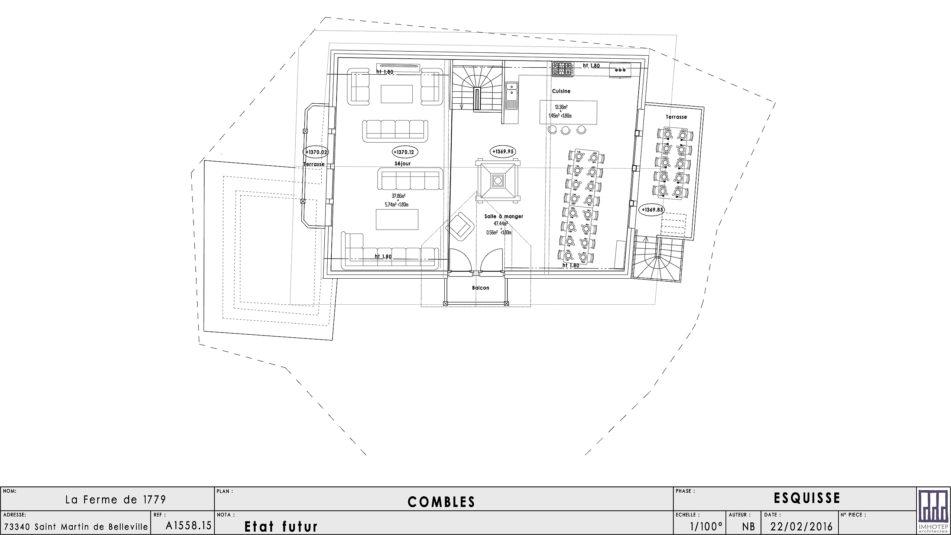 Plan Architecte - Niveau 2