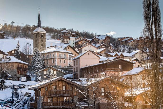 L'Épicerie / Vue du bâtiment actuel / Saint Martin de Belleville, Savoie