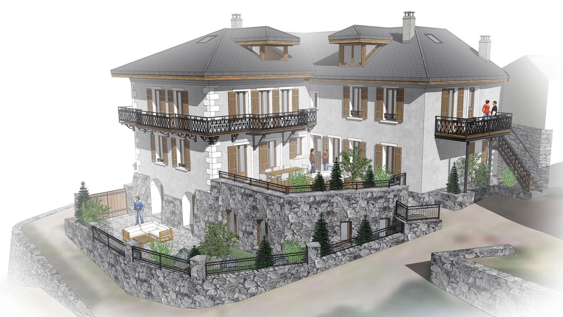 L'Épicerie / Vue 1 / Saint Martin de Belleville, Savoie
