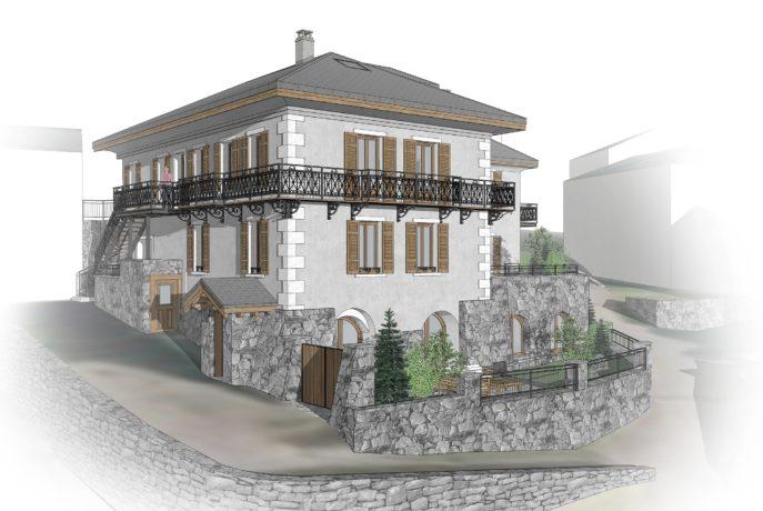 L'Épicerie / Vue 2 / Saint Martin de Belleville, Savoie