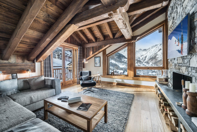 Chalet Smith Salon 2 Saint Martin de Belleville, Savoie