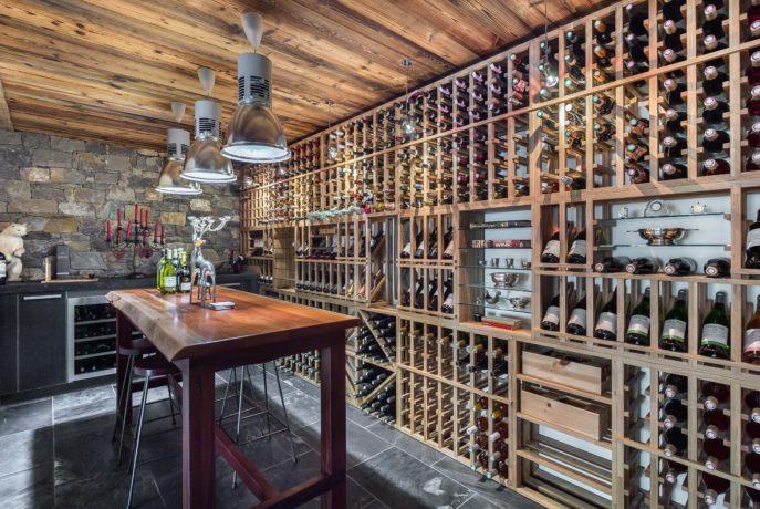 Chalet Smith Cave à vin Saint Martin de Belleville, Savoie
