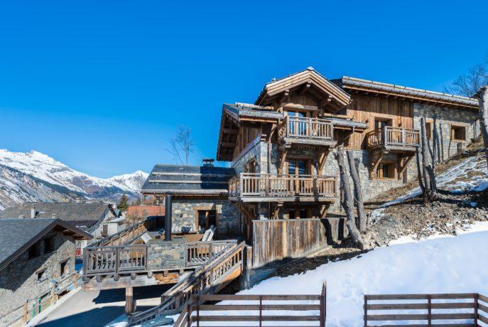 Chalet Smith Extérieur 2 Saint Martin de Belleville, Savoie