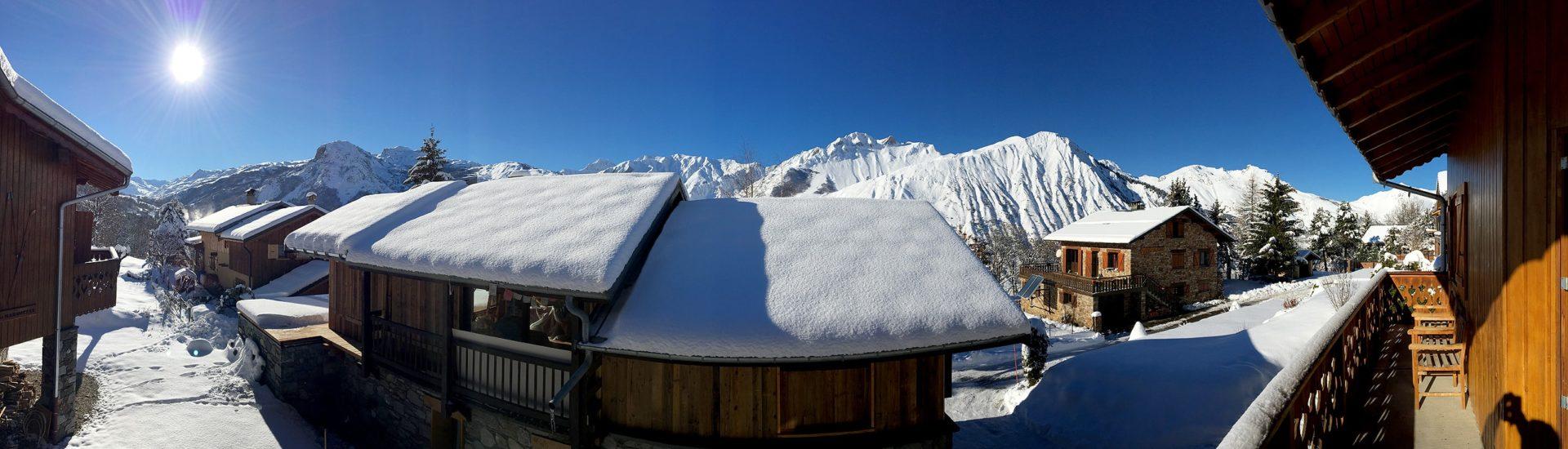 Chalet Amethyste / Vue panoramique Saint Martin de Belleville, Savoie