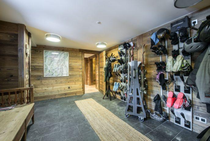 Chalet Chanterelle Ski Room Villarabout Saint Martin de Belleville, Savoie