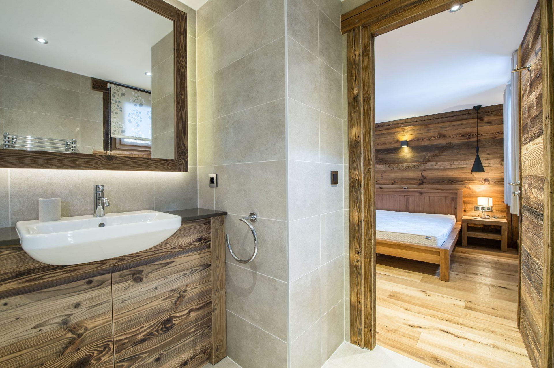 Chalet Chanterelle Salle de bain 2 Villarabout Saint Martin de Belleville, Savoie