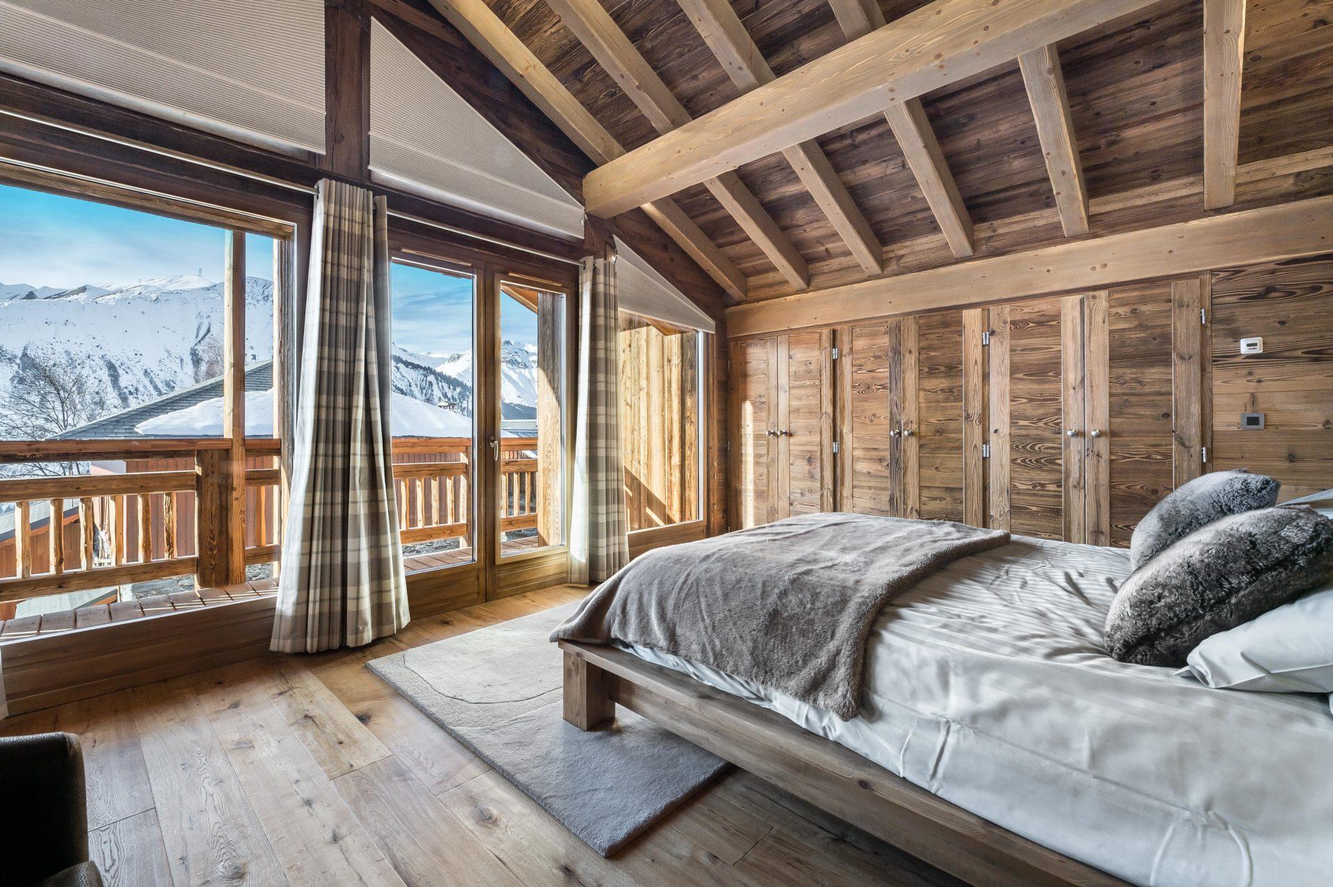 Chalet Chanterelle Chambre 1 Villarabout Saint Martin de Belleville, Savoie