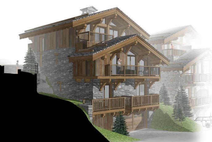Les Chalets de la Combe Chalet 3 - Saint Martin de Belleville Savoie France