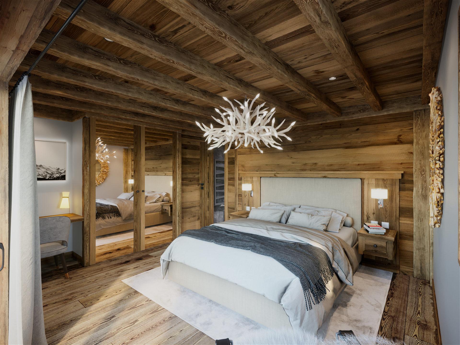 Les Chalets de la Combe Chalet 3 Chambre - Saint Martin de Belleville Savoie France