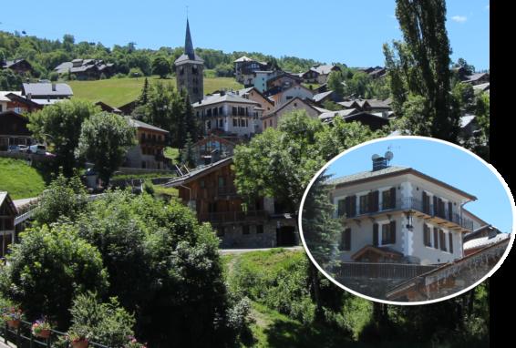 Programme de rénovation L'Epicerie 3 appartements Saint Martin de Belleville Savoie France