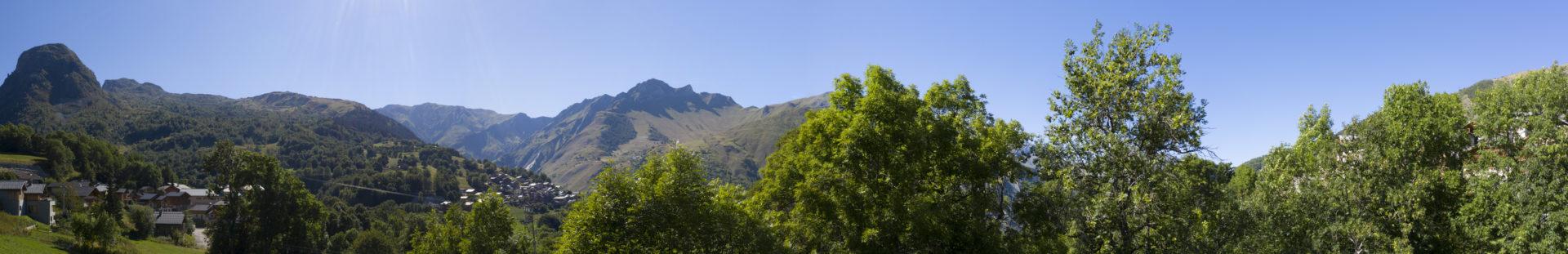 Panorama vue chalet B Niveau N-1